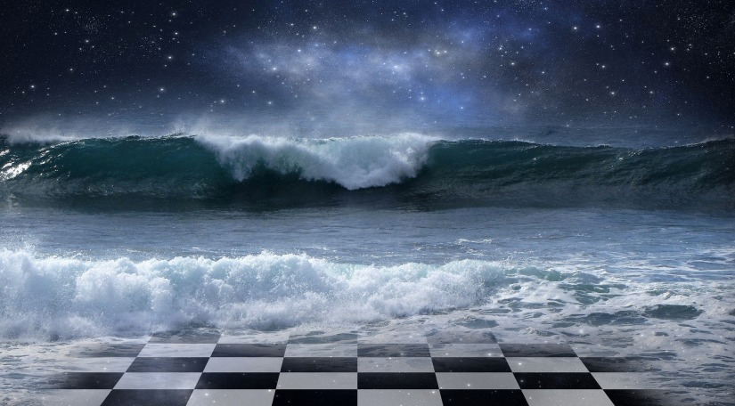 Chess-Board-waves